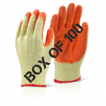 Economy Grip Builders Gloves (BOX OF 100)